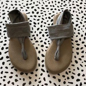 Sanuk Casual Fabric Wrap Sandals